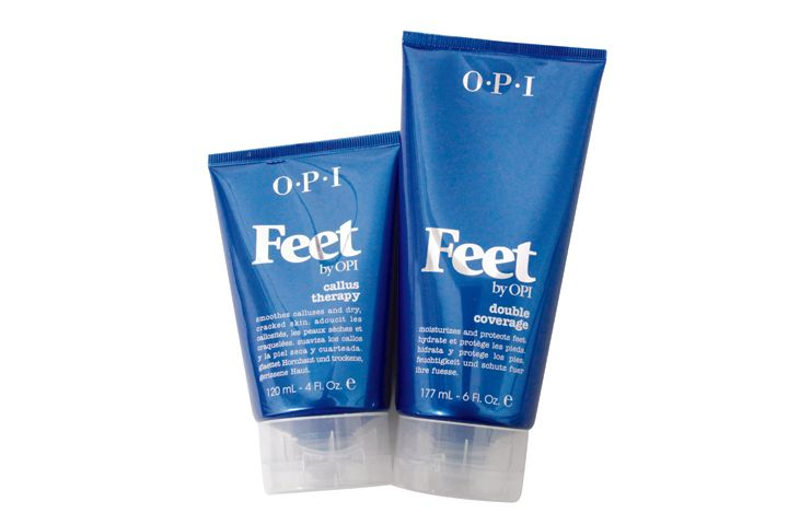 """<p>Feet by <a href=""""http://www.opi.com/"""">OPI</a> has a specialized Callus Therapy product that helps tame even the toughest calluses and helps soothe irritating cracks and other associated foot problems. It softens with fruit extracts and shea butter and can be rubbed on the affected areas daily. Callus Therapy makes a nice complement to a callus that has freshly been filed to keep the feet moisturized and supple after the pedicure.</p>"""