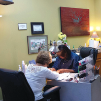 Nails techs at J Nails focus onproviding clients with professionalproducts and proper services.