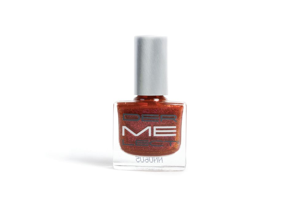 <p>Dermelect Cosmeceuticals presents its winter bejeweled collection featuring rare gems to accessorize the nails. Featured in the collection is Lustrous, a cognac garnet hue, perfect for the holidays.</p>