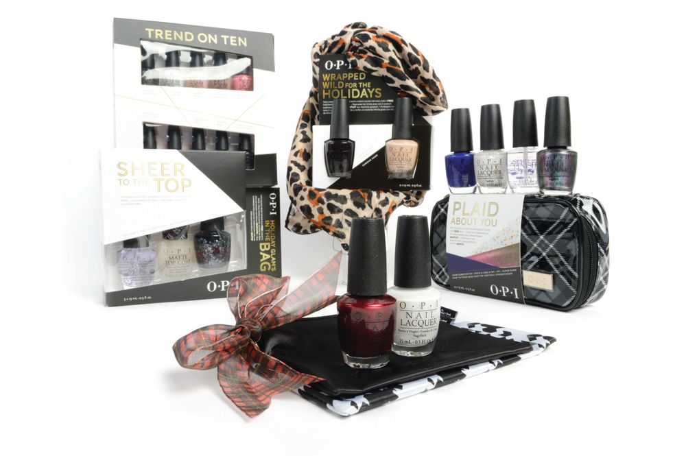 <p>OPI introduces the launch of several limited edition holiday gift sets including &nbsp;This Bear&rsquo;s Got Flair!, Trend on Ten, Sheer to the Top!, Wrapped Wild for the Holidays, Holiday&rsquo;s Glam Bag, and Plaid About You.</p>