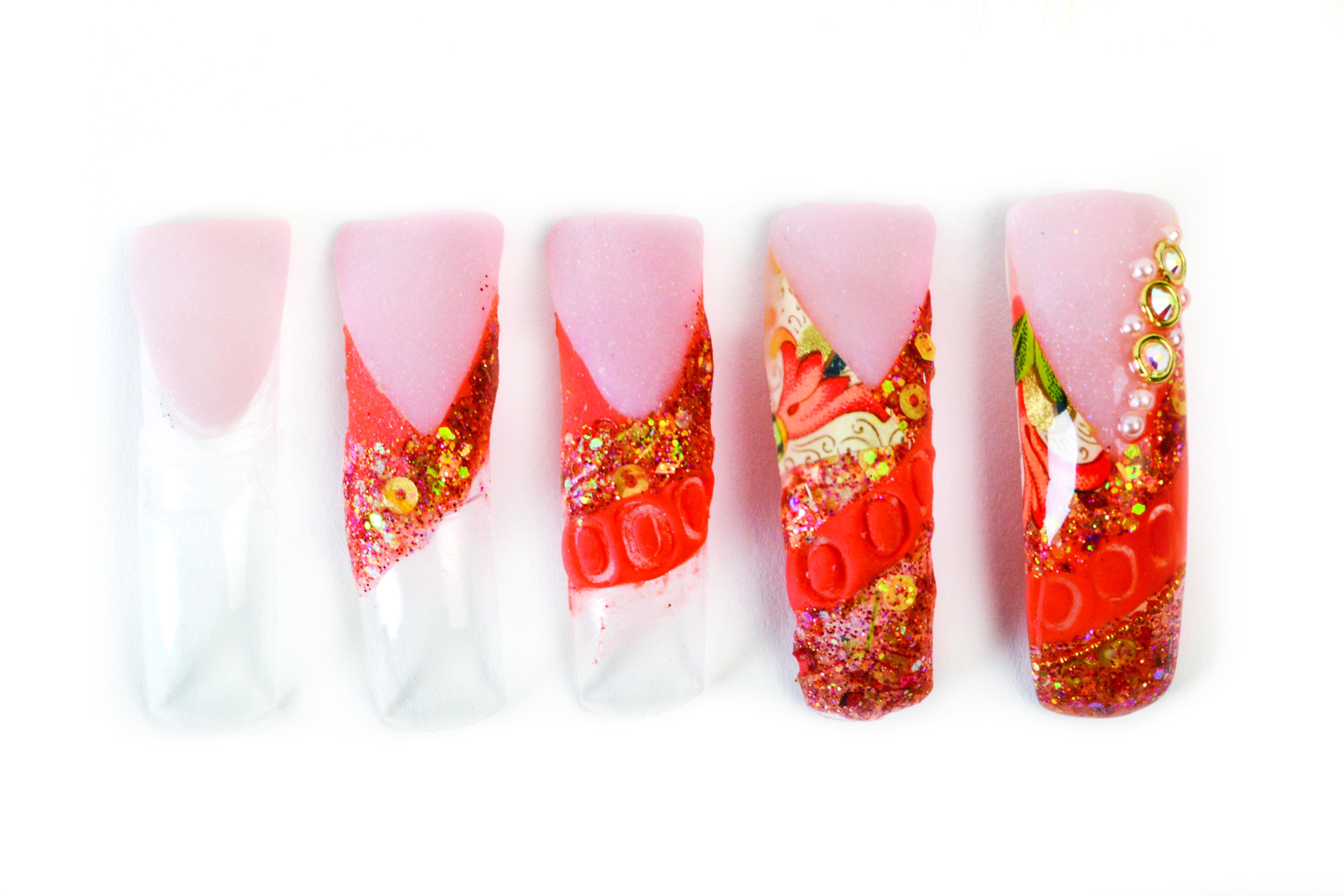 Nail Art Studio: Autumn Art Paper Nails