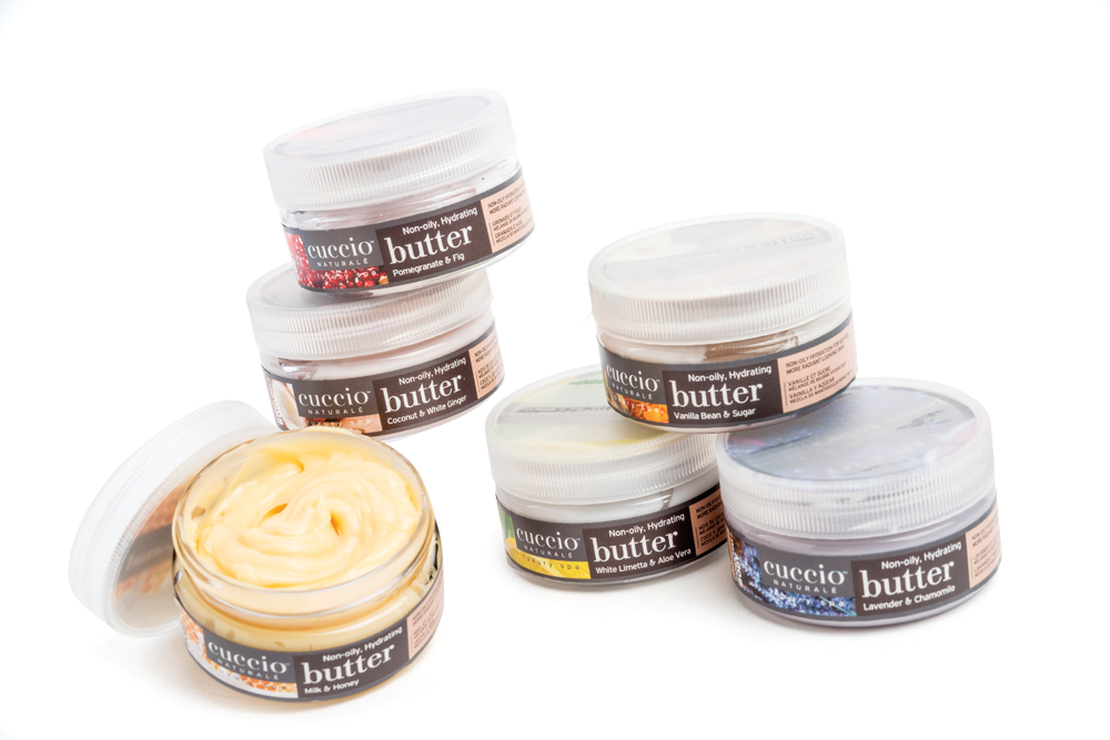 <p>Available in cute and portable sizes, the Butter Blend Babies from Cuccio Naturale come in travel-friendly compacts so your clients&rsquo; skin can always stay hydrated with the non-oily formula.&nbsp;</p>