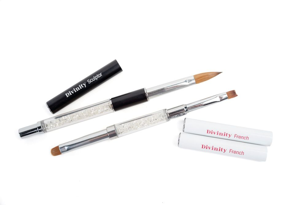 <p>Spoil yourself or a coworker with brand new brushes from&shy; Kupa. The Divinity Diamond Brush Collection is handcrafted from the finest kolinsky hair and features beautiful and blingy handles.</p>
