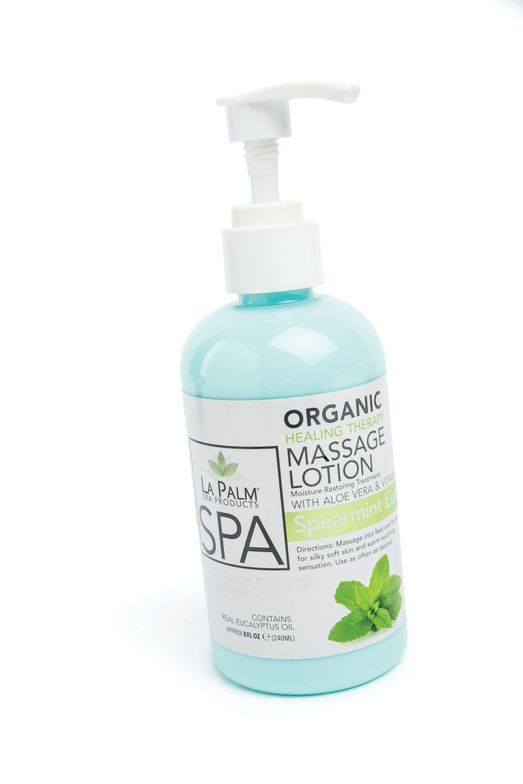 <p>The Organic Healing Therapy Massage Lotion from La Palm hydrates and moisturizes with pure oils. The natural ingredients in the formula leave skin silky and smooth.</p>