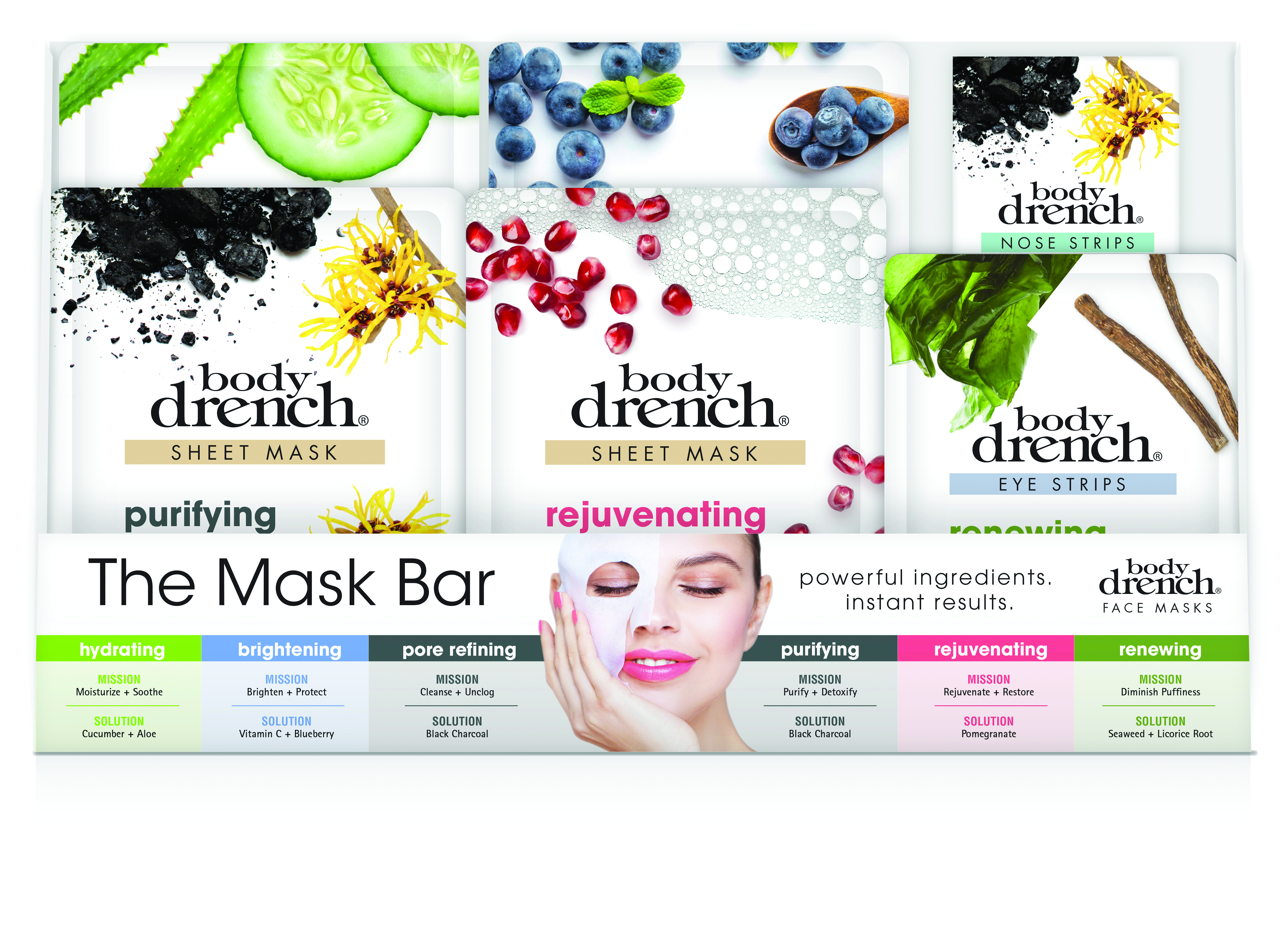 Sheet Masks and Strips