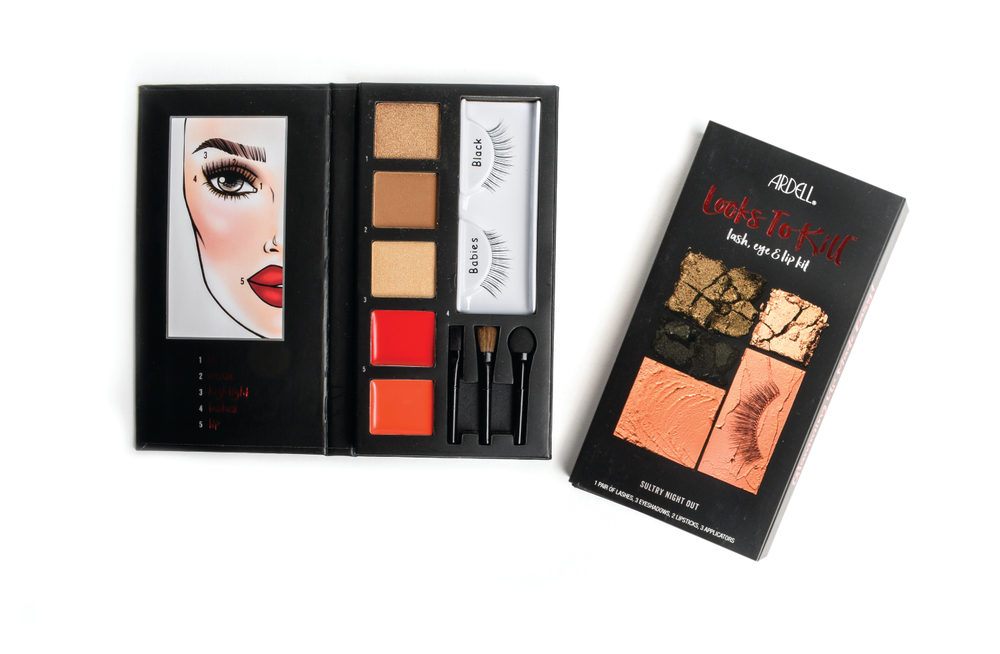 "<p>For the beauty addict, there is no better gift than the Ardell Beauty Looks to Kill lash, eye, and lip kit. Each kit contains eyeshadow, lipstick, and a pair of Ardell lashes. Choose from Sultry Night Out for a smoky eye and nude lip look, or Steal the Show for a subtle eye and bold red lip.<br /><a href=""http://www.ardelllashes.com"">www.ardelllashes.com</a></p>"