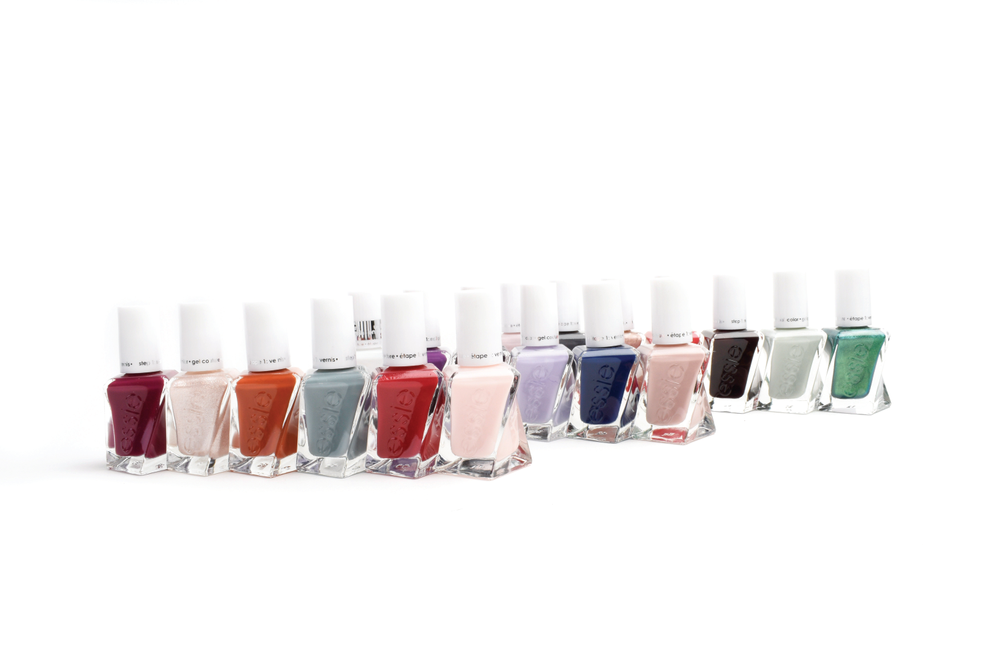 "<p>The Essie Gel Couture Holiday 2017 Collection features three new shades that put magnificent jewels at your fingertips. Inspired by the artistic genius of legendary Paris jewelers, these gorgeous new shades fit every occasion, from a classic fiery red for a chic statement to a lustrous bronze that takes any look to couture heights.<br /><a href=""http://www.essie.com"">www.essie.com</a></p>"