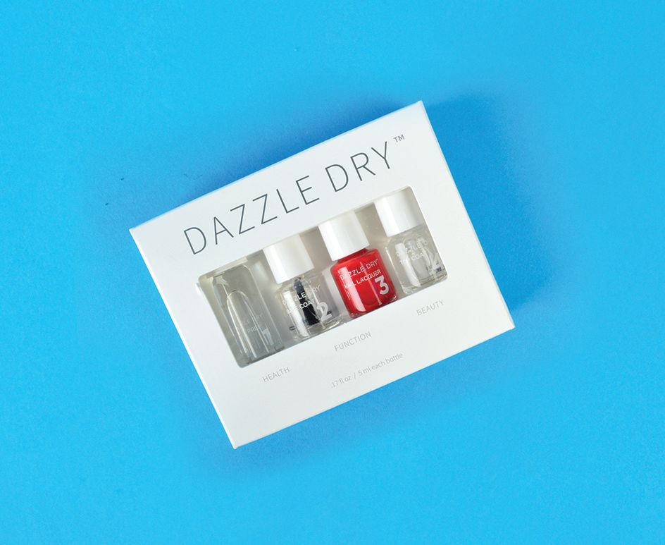 "<p>Dazzle Dry Mini Kit <br /><a href=""http://www.dazzledrynails.com"">www.dazzledrynails.com </a></p>"