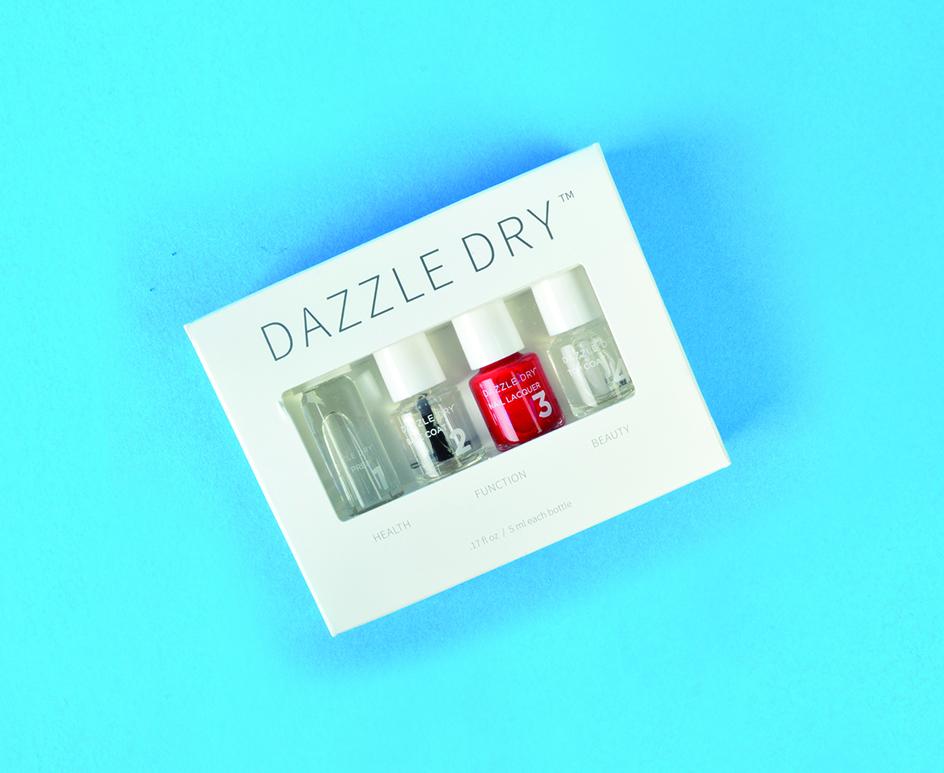 "<p>Dazzle Dry Mini Kit <br /><a href=""http://www.dazzledrynails.com"">www.dazzledrynails.com </a></p>"