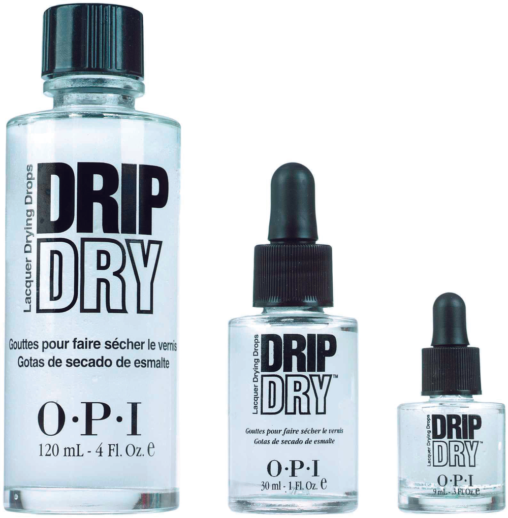 <p>FAVORITE POLISH DRYING PRODUCT</p> <p>1. <strong>OPI Products:</strong> Drip Dry Lacquer Drying Drops</p> <p>2. <strong>CND:</strong> Solar Speed Spray</p> <p>3. <strong>China Glaze:</strong> Fast Freeze Quick Dry</p> <p>4. <strong>NSI:</strong> Airshield</p> <p>5. <strong>Jessica Cosmetics:</strong> Jessica Quick Dry</p>