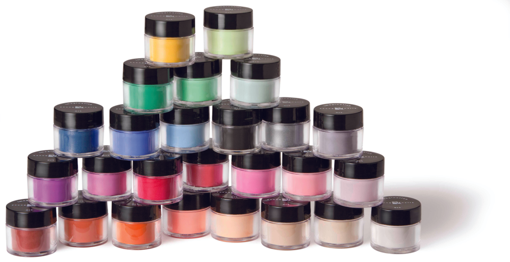 <p>FAVORITE ACRYLIC (COLOR) SYSTEM</p> <p>1. <strong>Young Nails:</strong> Colored Acrylic</p> <p>2. <strong>CND:</strong> Perfect Color Powder Collection</p> <p>3. <strong>OPI Products:</strong> AbsoluteFX Color Powders</p> <p>4. <strong>EZ Flow:</strong> Boogie Nights Confetti Acrylic Collection</p> <p>5. <strong>NSI:</strong> Technailcolor Colored Acrylic</p>