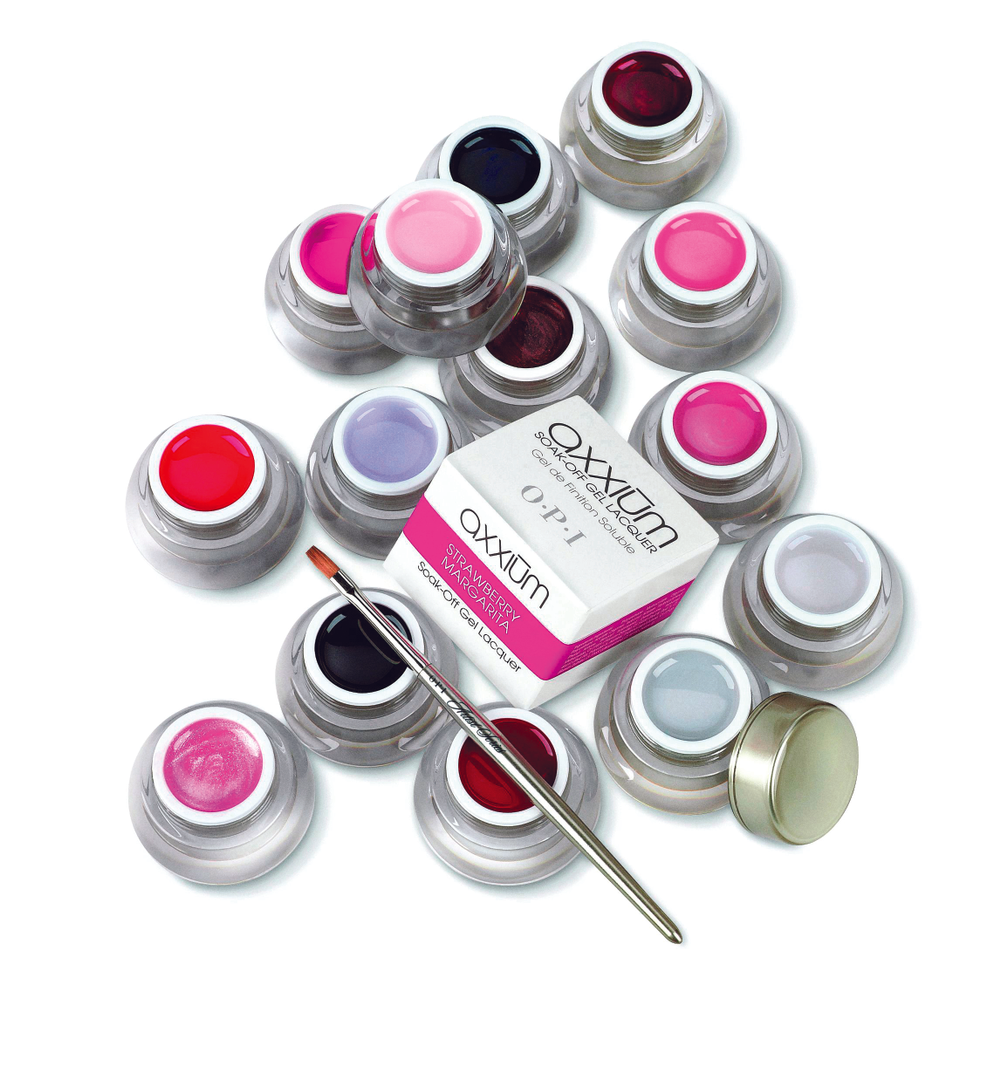 <p>FAVORITE GEL (SOAK-OFF) SYSTEM</p> <p>1. <strong>OPI Products:</strong> Axxium Soak-off Gel Lacquers</p> <p>2. <strong>Young Nails:</strong> ManiQ Soak Off Gel</p> <p>3. <strong>NSI:</strong> Illusion Soak-Off Gel System</p> <p>4. <strong>ibd:</strong> Soak-Off Gel System</p> <p>5. <strong>EZ Flow:</strong> Gel It! Alternative Soak-Off System</p>