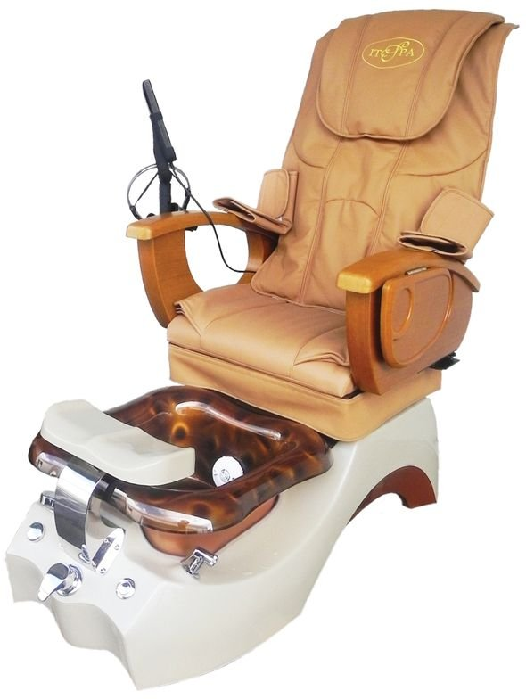 """<p>The G580 pedicure spa from <a href=""""http://www.itcspa.com/"""">ITC Spa Inc.</a> comes with 100 plastic liners for the basin. Other features include a high-quality glass bowl with a strong fiberglass base, easy to clean jets, and a high-quality massage system.</p>"""