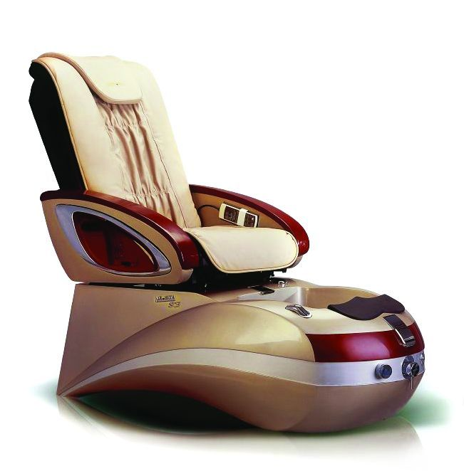 """<p>A new salon furnishings company, <a href=""""http://www.lezonspa.com/"""">Lezon</a> adds the luxurious S3 to the pedicure spa marketplace. The S3 features a pipeless whirlpool foot bath jet, an adjustable footrest, an LED spa light, and 10 functions of massage therapy. Both armrests lift up for easy access. A luxurious stool with a backrest is included to provide comfort for the tech.</p>"""