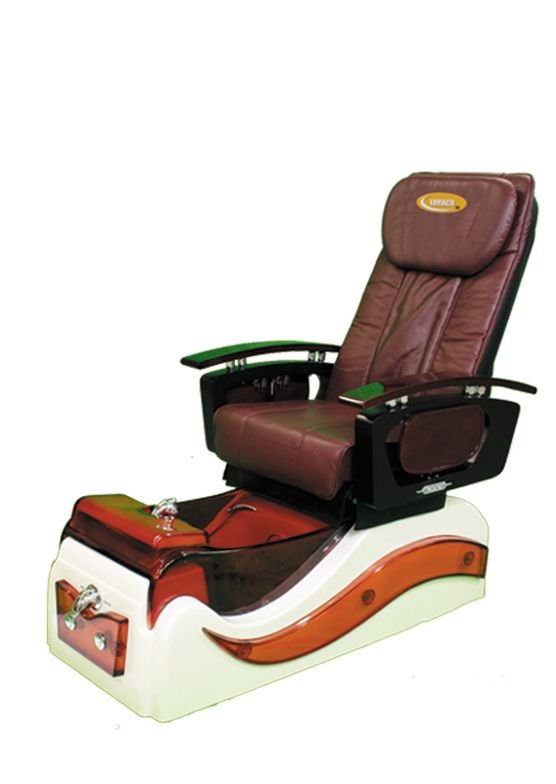 """<p>The <a href=""""http://www.luraco.com/"""">Luraco</a> iRobotics Massage chair was researched, developed, and manufactured in the U.S.A. It&rsquo;s available in four different colors and features both Swedish and deep tissue massages, an overflow prevention system, and Magna Jets (an easy to clean and service jet option).</p>"""