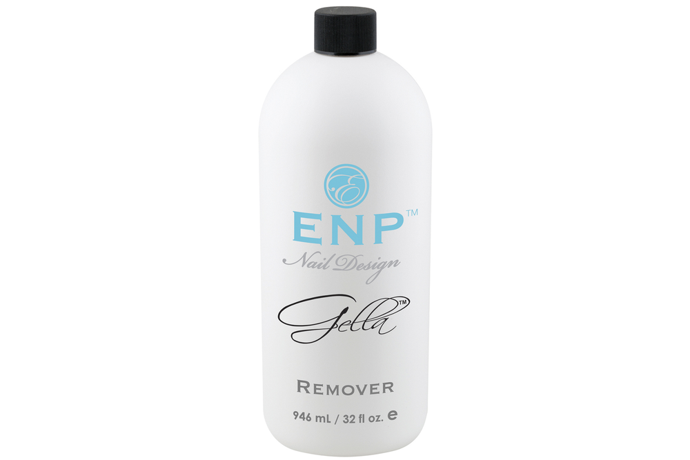 <p>ENP Nail Design Gella Remover is an effective soak-off solution with hydrating additives to help keep skin from dehydration. The Remover can soak off Gella Gel-Polish and comes in a 32-fl.-oz. container.<br /><br /></p>
