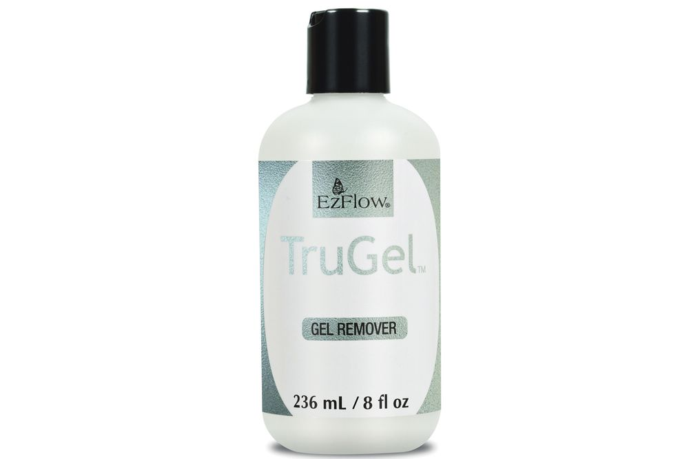<p>EZ Flow TruGel Gel Remover is designed to work with the TruGel System. It gently and quickly melts away gel-polish in minutes. Make sure to wrap the foil tightly and wait 10 minutes before removing the foil. If you have applied thick coats of gel the time may vary.<br /><br /></p>