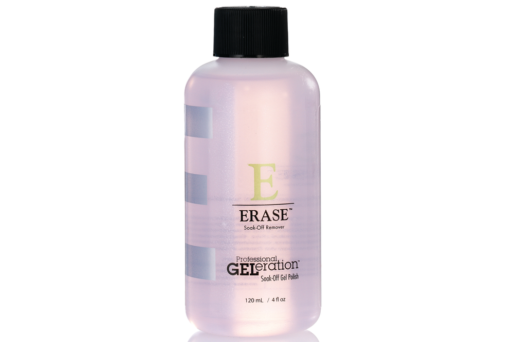 <p>Jessica&rsquo;s Erase Soak-Off Remover is designed to break down the bond and safely release GELeration Gel Products from the natural nail in minutes. Erase Remover&rsquo;s conditioning formula protects the natural nail and surrounding skin from excessive dryness.<br /><br /></p>