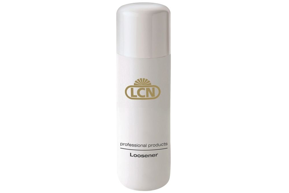 <p>LCN&rsquo;s Loosener can be used with its Removal Pads to soak off gel-polish. The acetone base has almond oil to help hydrate skin during service.<br /><br /></p>