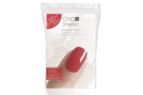 "<p><a href=""http://www.cnd.com"">CND&rsquo;s</a> Shellac Remover Wraps offer a simple, safe, and effective removal of CND Shellac Power Polish. The wraps are plastic-backed and self-adhering cotton wraps that were custom designed for gel-polish removal.<br /><br /></p>"