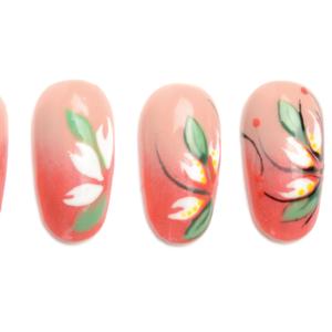 Nail Art Studio: White Poinsettia