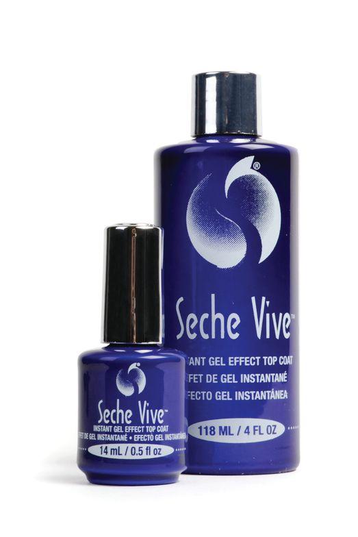 "<p>Seche Vive Instant Gel Effect Top Coat Professional Kit<br /><a href=""http://www.seche.com"">www.seche.com</a></p>"