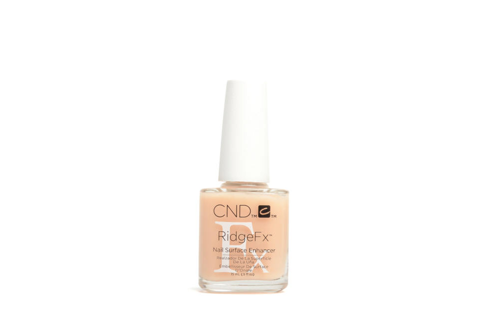 "<p>CND RidgeFX Nail Surface Enhancer<br /><a href=""http://www.cnd.com"">www.cnd.com</a></p>"