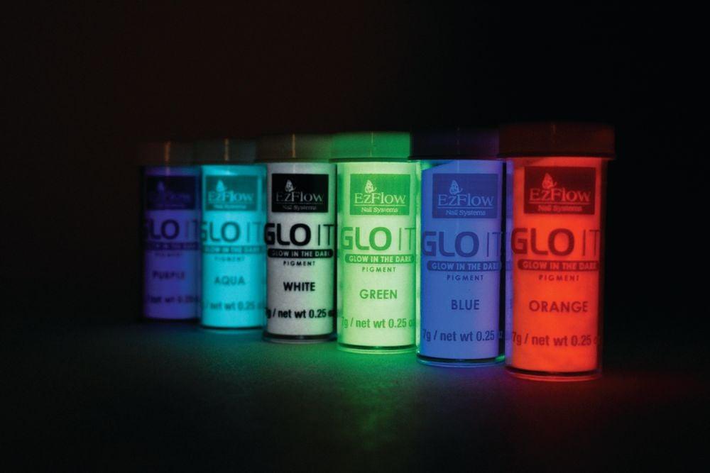 """<p>EzFlow GLO It! Glow in the Dark Pigments<br /><a href=""""http://www.ezflow.com"""">www.ezflow.com</a></p>"""