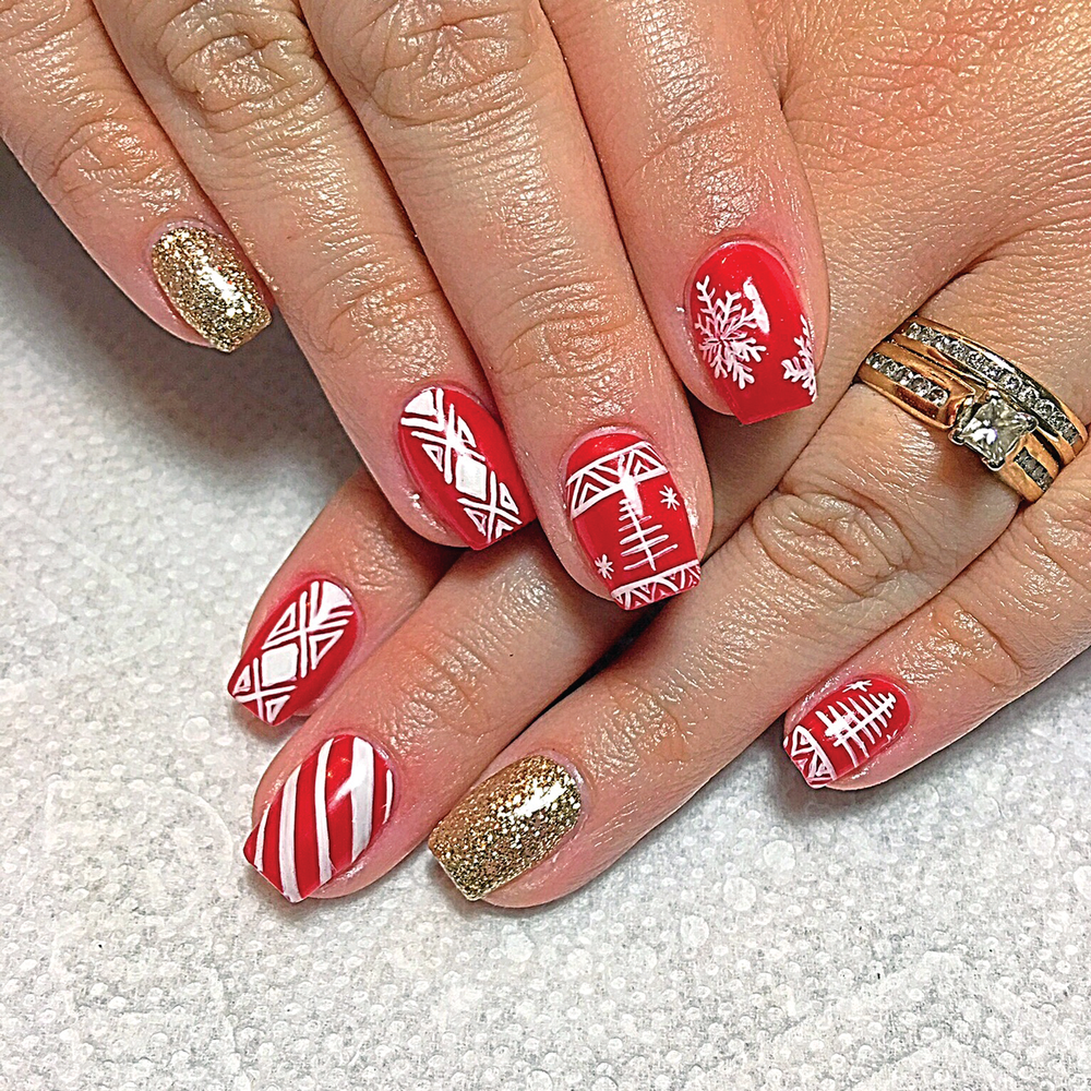 <p>Norma Coleman<br />Bebe's Nails<br />Manchester, Conn.</p>