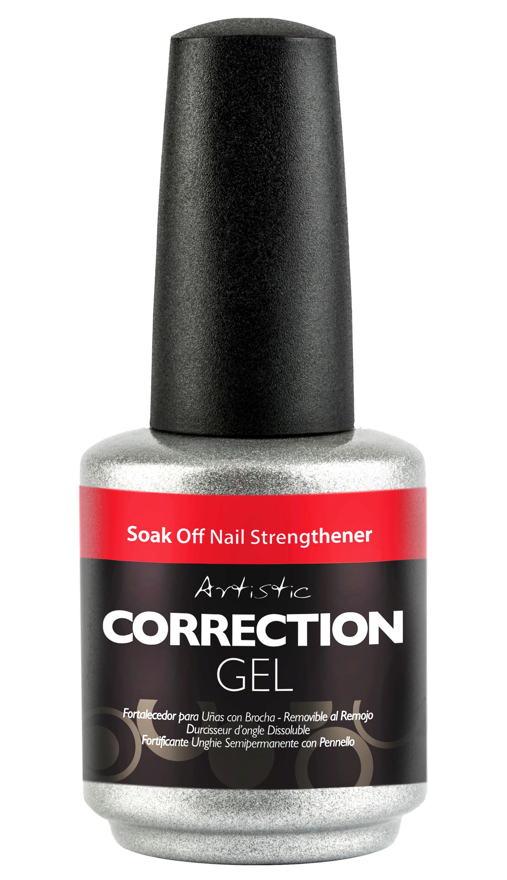 """<p>Artistic Nail Design Correction Gel Soak Off Nail Strengthener</p> <p><a href=""""http://www.artisticnaildesign.com"""">www.artisticnaildesign.com </a></p>"""
