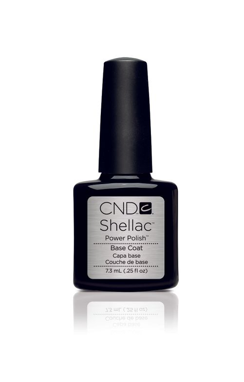 "<p>CND Shellac Power Polish Base Coat</p> <p><a href=""http://www.cnd.com"">www.cnd.com</a></p>"