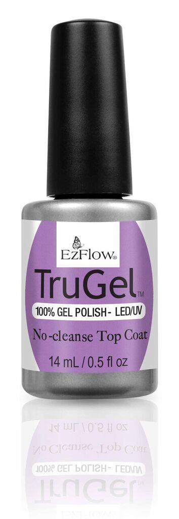 """<p>EzFlow No-Cleanse Top Coat </p> <p><a href=""""http://www.ezflow.com"""">www.ezflow.com </a></p>"""