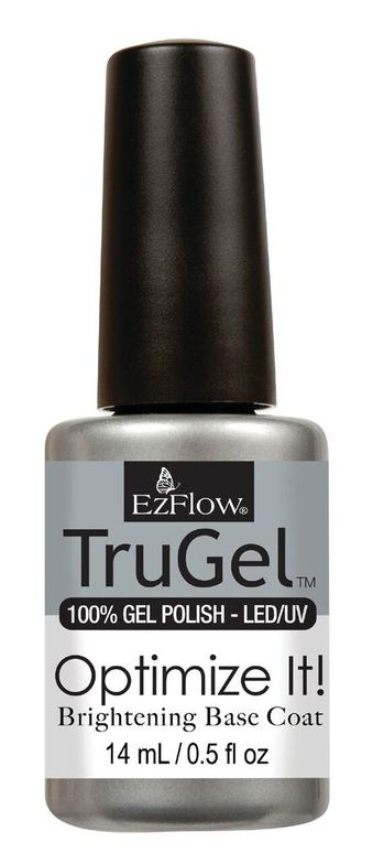 "<p>EzFlow Optimize It! Brightening Base Coat </p> <p><a href=""http://www.ezflow.com"">www.ezflow.com </a></p>"