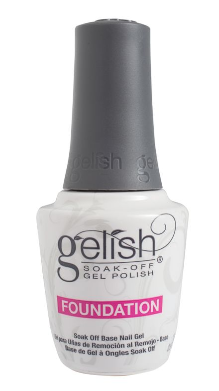 "<p>Gelish Foundation Soak-Off Base Gel  </p> <p><a href=""http://www.gelish.com"">www.gelish.com </a></p>"
