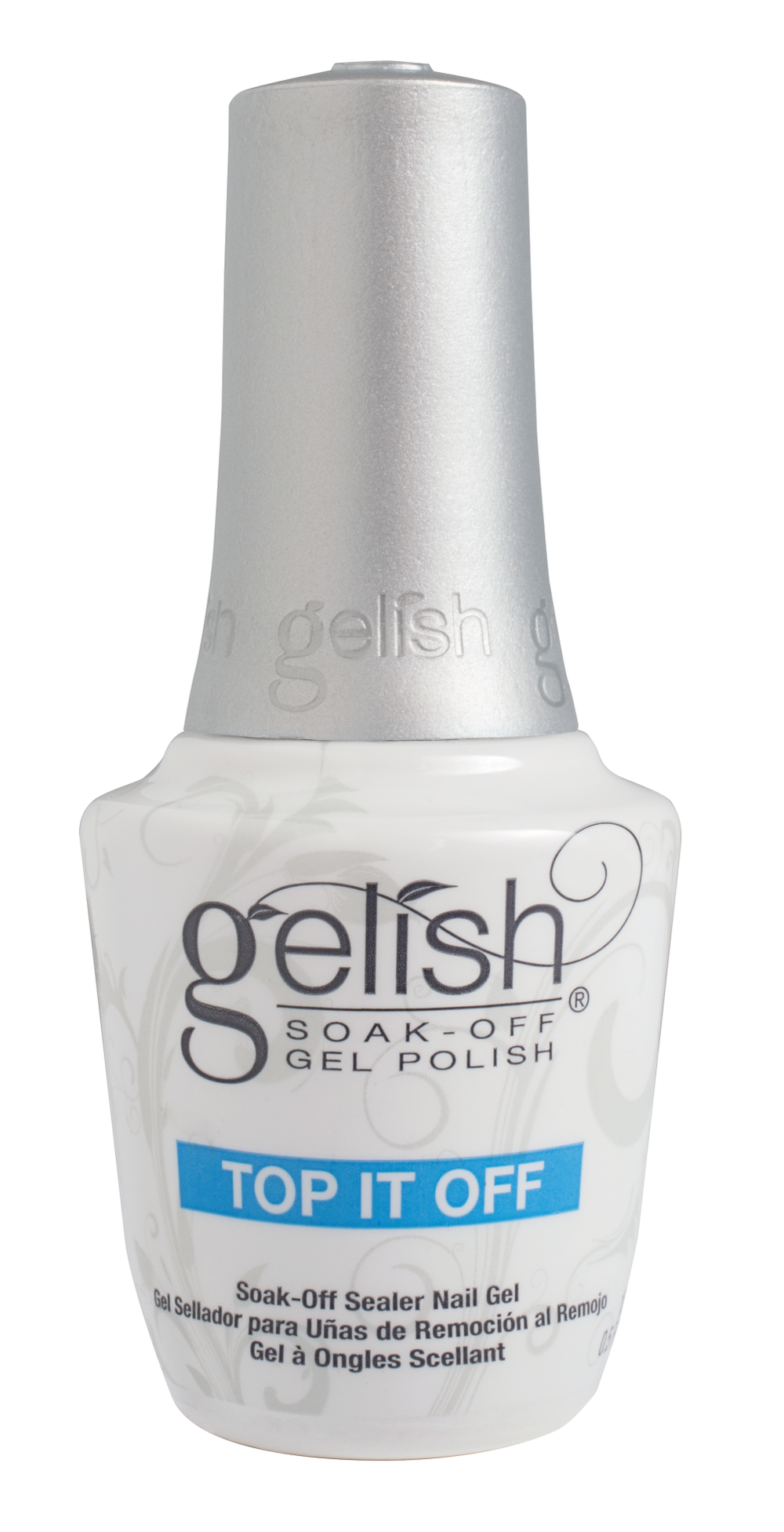 "<p>Gelish Top It Off Soak-Off Sealer Gel </p> <p><a href=""http://www.gelish.com"">www.gelish.com </a></p>"