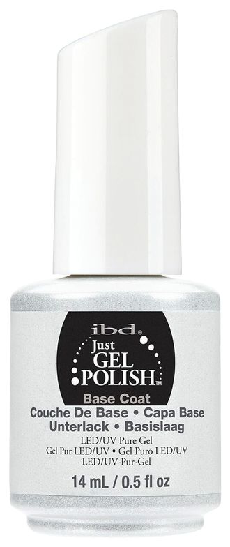 "<p>IBD Just Gel Polish Base Coat </p> <p><a href=""http://www.ibdbeauty.com"">www.ibdbeauty.com </a></p>"