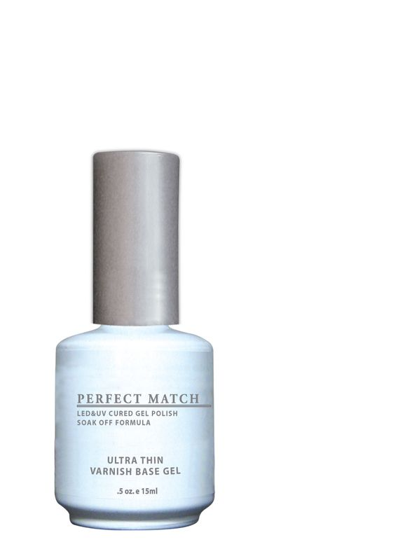 "<p>LeChat Perfect Match Ultra-Thin Varnish Base Gel</p> <p><a href=""http://www.lechatnails.com"">www.lechatnails.com </a></p>"