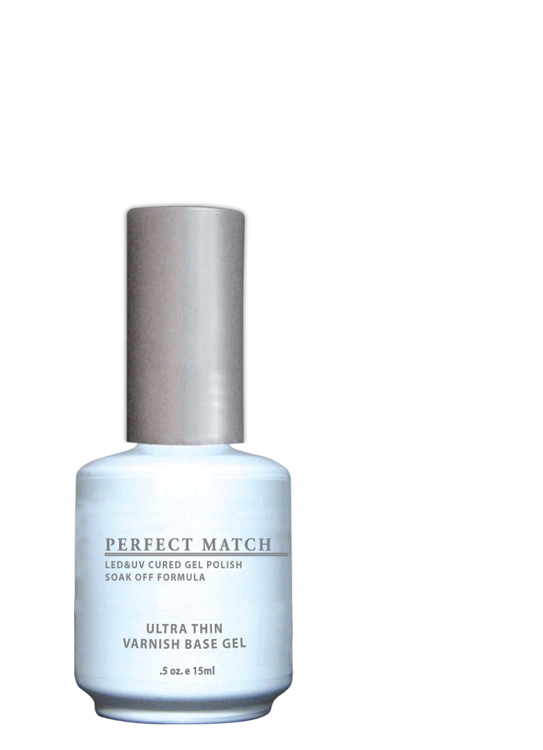 "<p>LeChat Perfect Match Ultra-Thin Varnish Base Gel</p> <p><a href=""http://www.lechatnails.com"">www.lechatnails.com </a></p>"