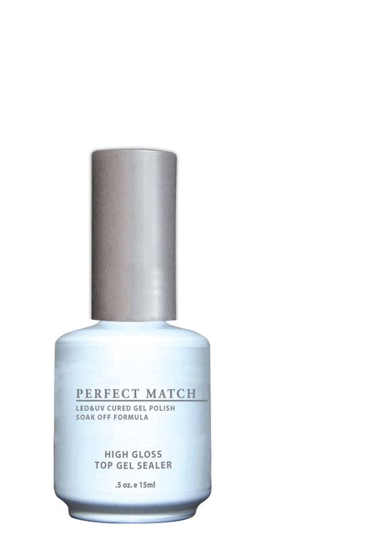 "<p>LeChat Perfect Match High Gloss Top Gel Sealer </p> <p><a href=""http://www.lechatnails.com"">www.lechatnails.com </a></p>"