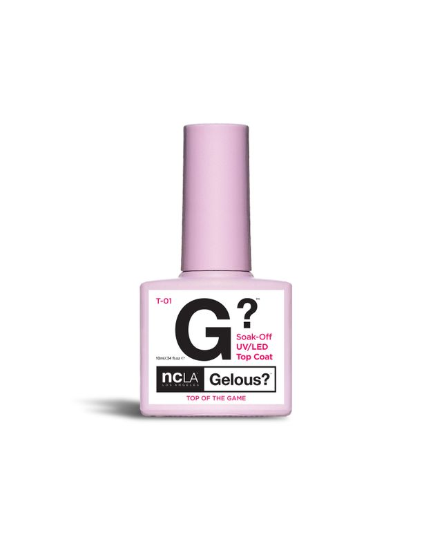 "<p>NCLA Gelous Top Of The Game Top Coat</p> <p><a href=""http://www.shopncla.com"">www.shopncla.com </a></p>"