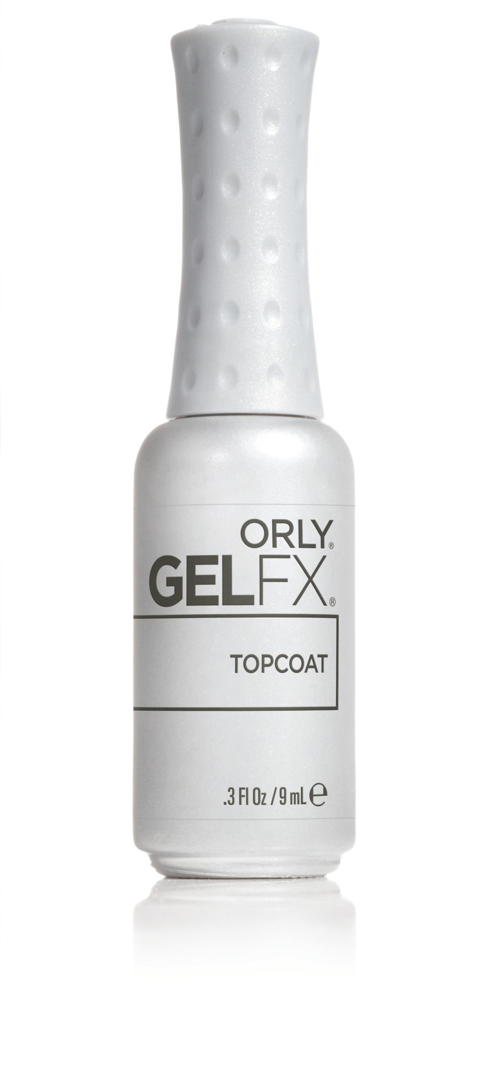 "<p>Orly GelFX Top Coat </p> <p><a href=""http://www.orlybeauty.com"">www.orlybeauty.com </a></p>"