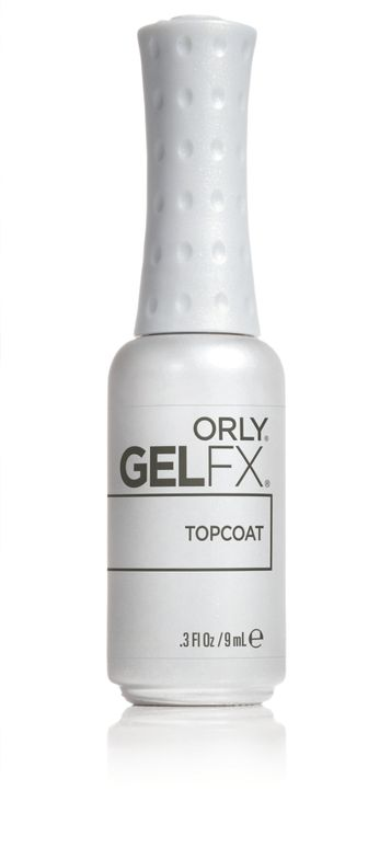 "<p>Orly GelFX Top Coat </p> <p><a href=""http://www.orlybeauty.com"">www.orlybeauty.com </a></p>"