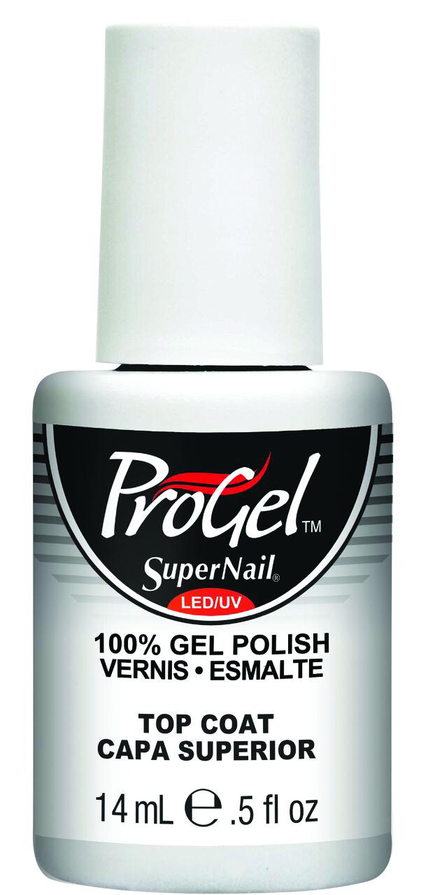 """<p>SuperNail ProGel Top Coat</p> <p><a href=""""http://www.supernailprofessional.com"""">www.supernailprofessional.com</a></p>"""