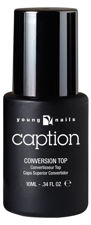 "<p>Young Nails Conversion Top Coat </p> <p><a href=""http://www.youngnails.com"">www.youngnails.com </a></p>"