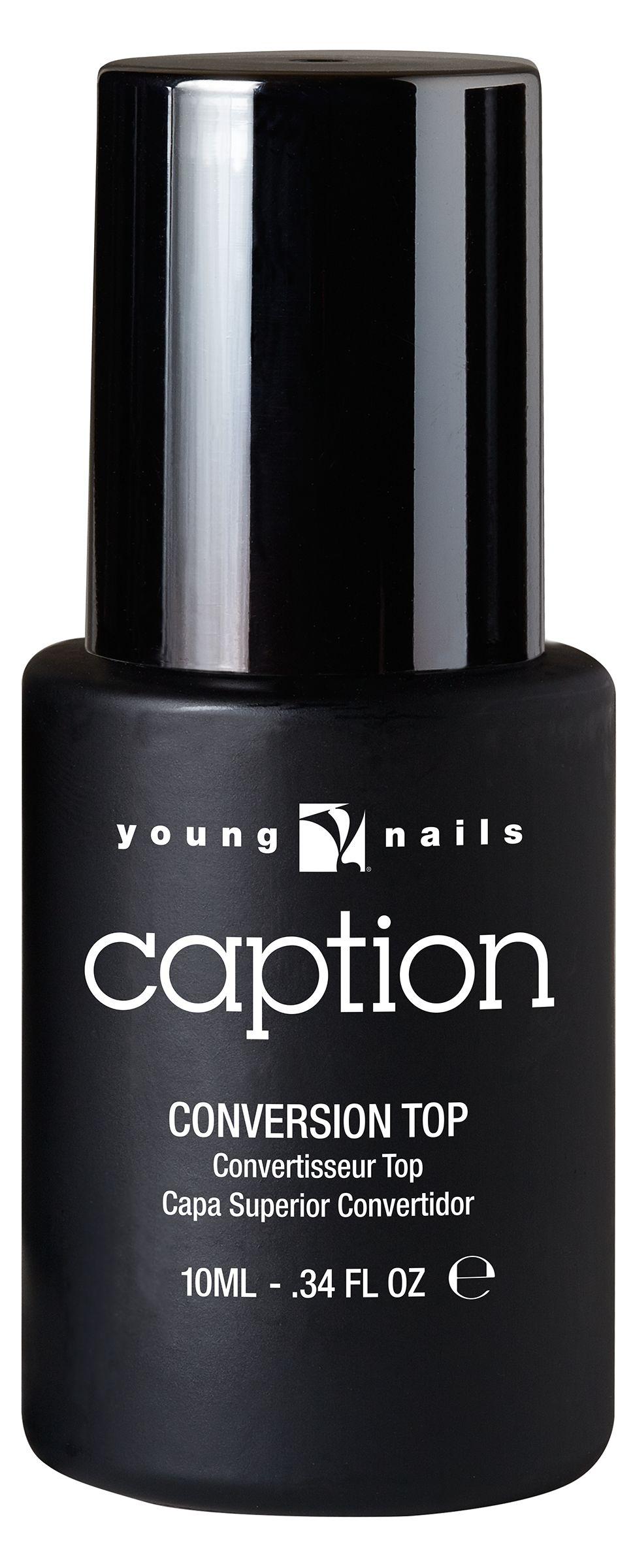 """<p>Young Nails Conversion Top Coat </p> <p><a href=""""http://www.youngnails.com"""">www.youngnails.com </a></p>"""