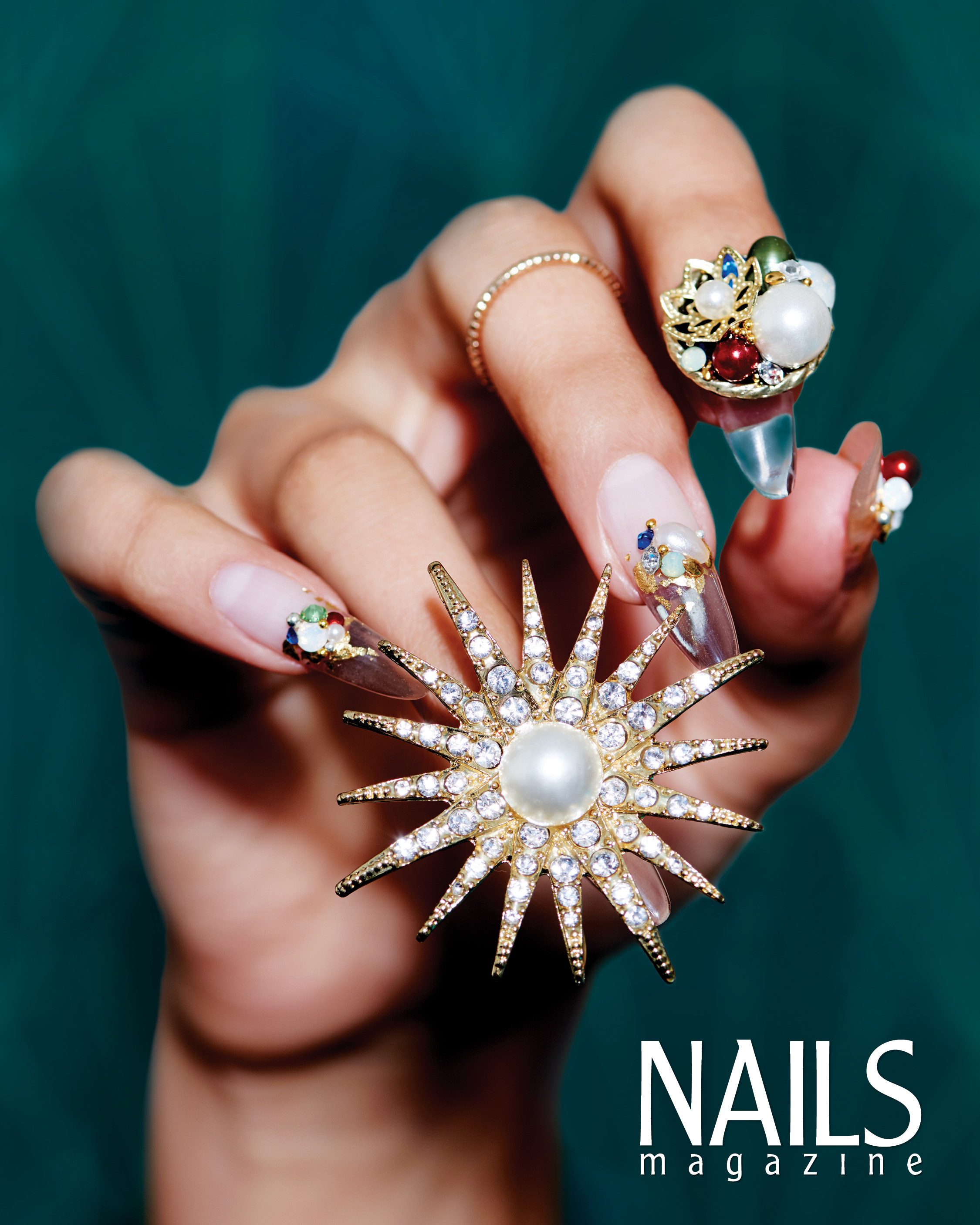 Behind the Scenes: Customizable Clear Nails