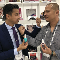 Brothers Robert and Vu Nguyen now both work for Nail Alliance — for Entity and Gelish, respectively.