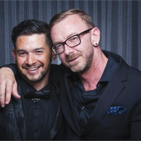 Ouidad co-owners Chadwick Pendley and Igor Araujo offer clients the convenience and luxury of a...