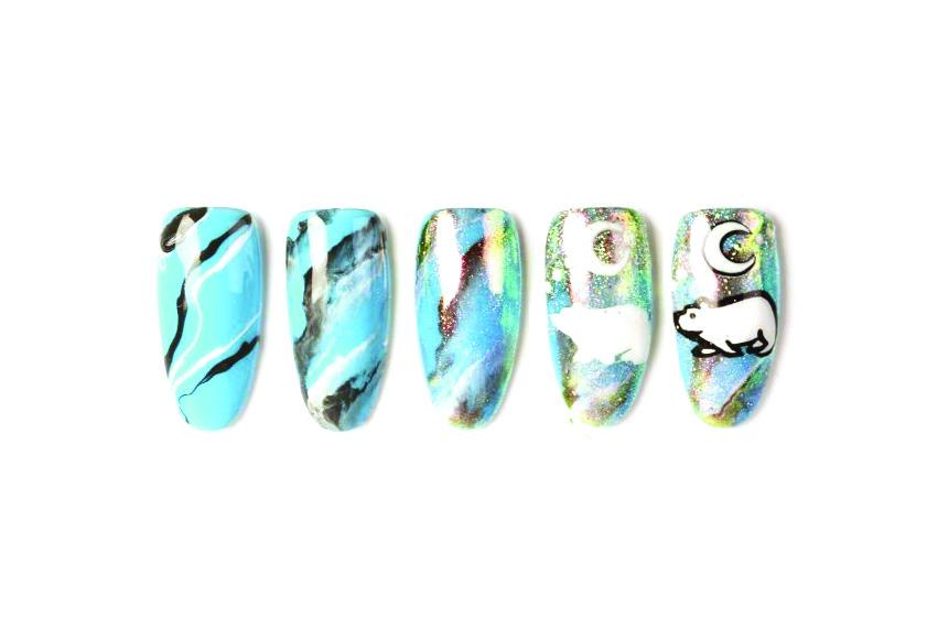 Nail Art Studio: Polar Bear Pride