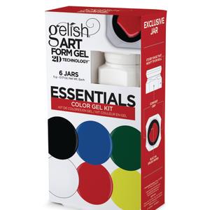 Use Gelish's  Art Form Gel  to Create Detailed Art